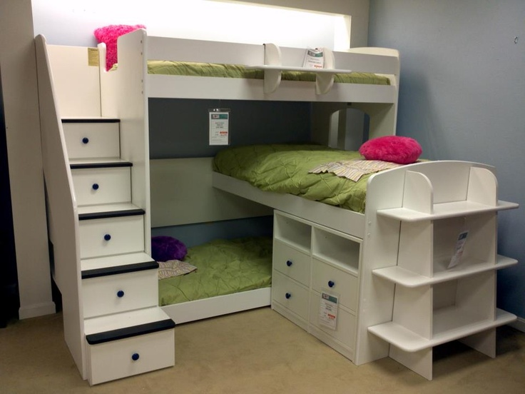 7 Nice Triple Bunk Beds Ideas For Your Children S Bedroom: Bunk Beds For Kids