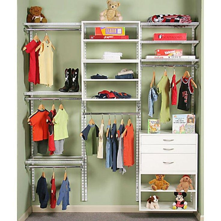 Baby Closet Organization Idea