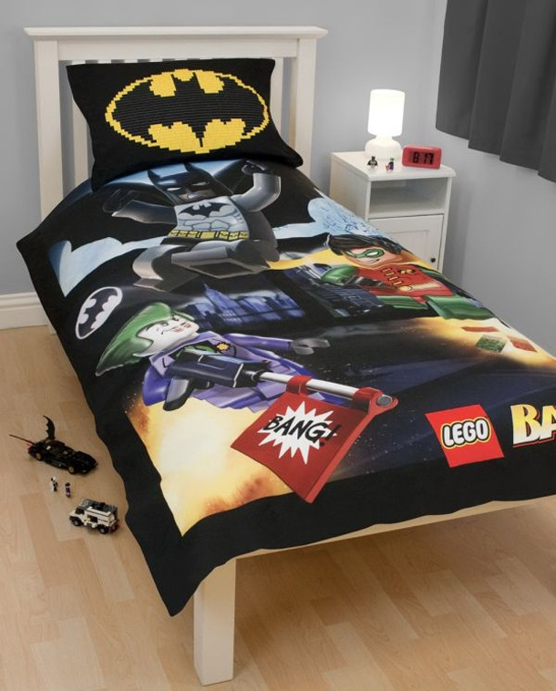 batman theme bedding