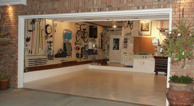 clean garage inspiration