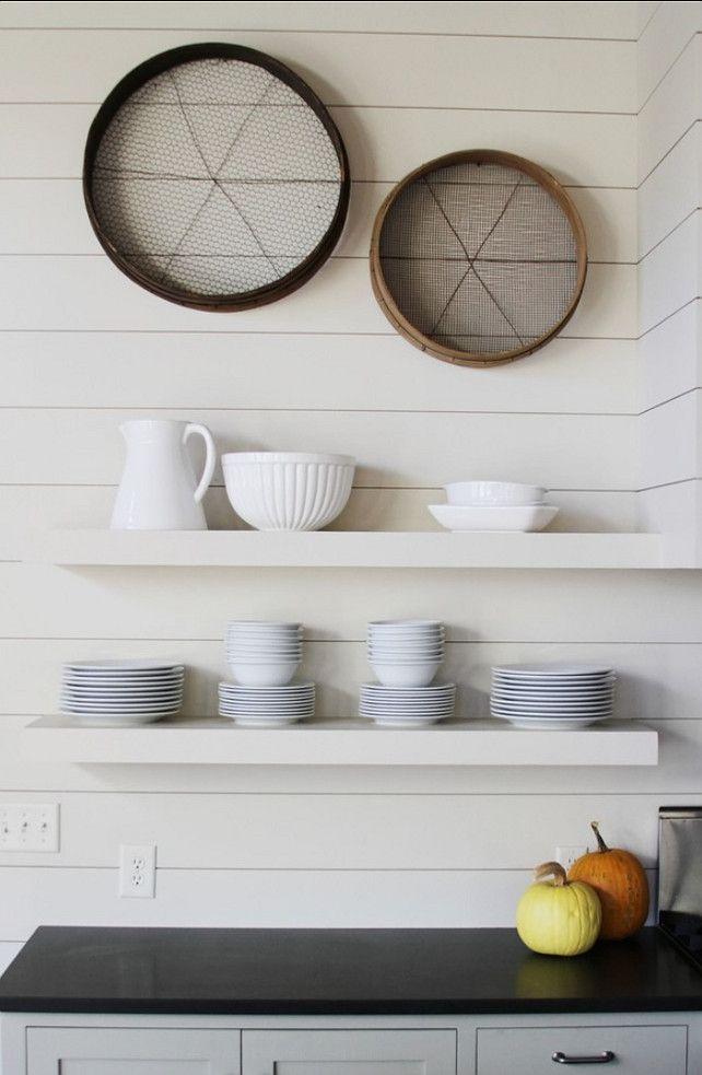 decorative shelves kitchen