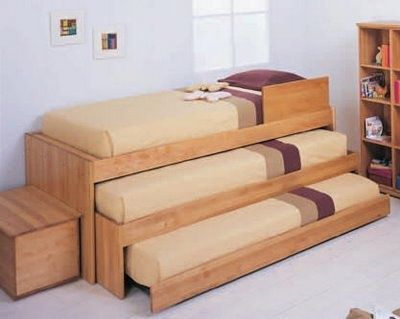 Tripple Bunk Bed With Crib