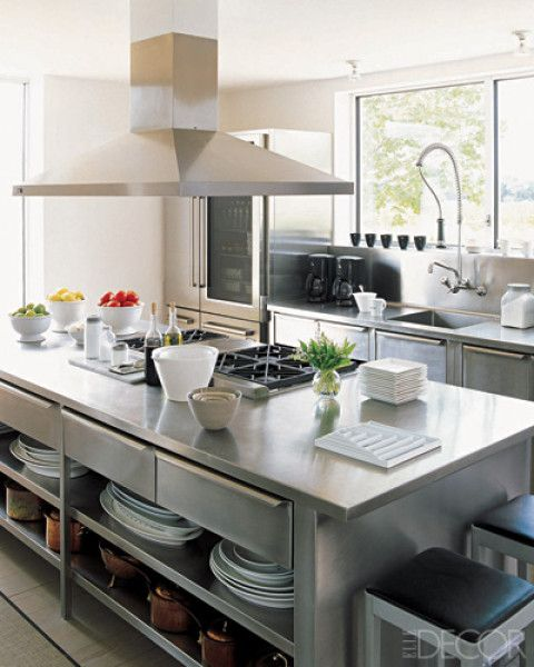 Professional kitchen look home decorating design for Professional kitchen design