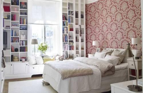 shelves for bay windows