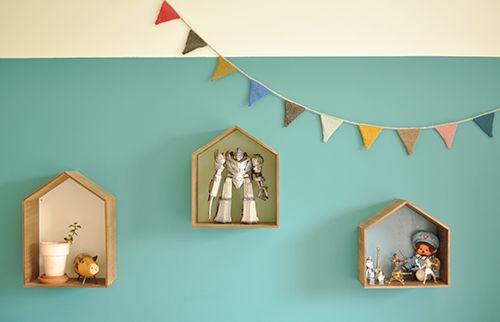 decorative wall shelves kids