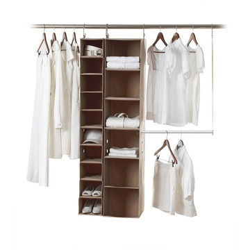 ... your own closet organizer. And the moment you complete it, your