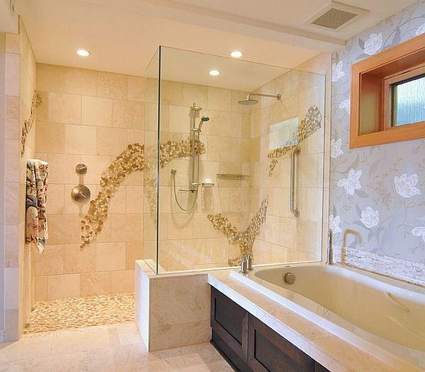 Doorless Walk-in Shower Designs