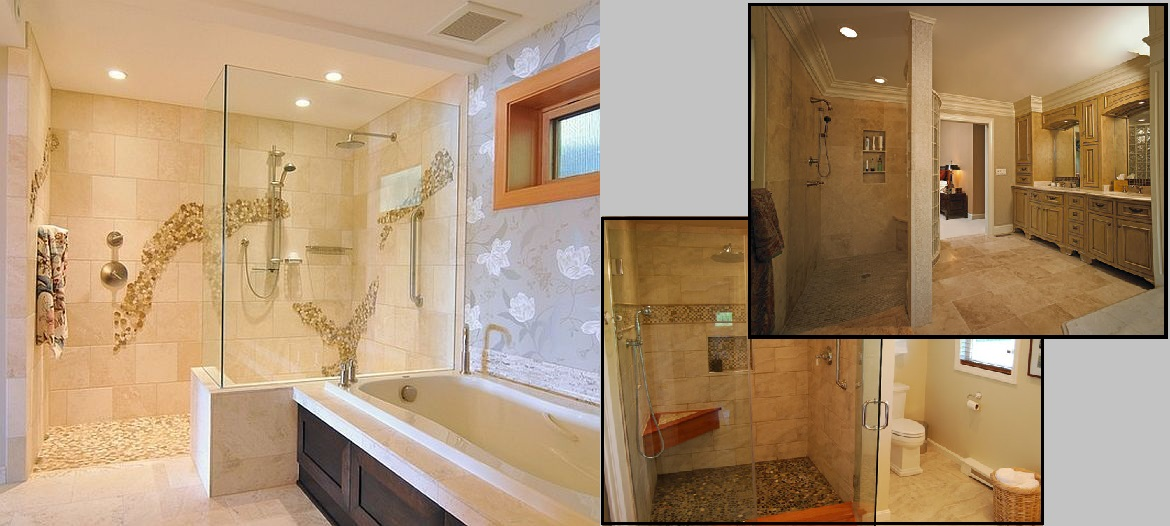Doorless Walk In Shower Designs For Small Bathrooms Doorless Pictures ...