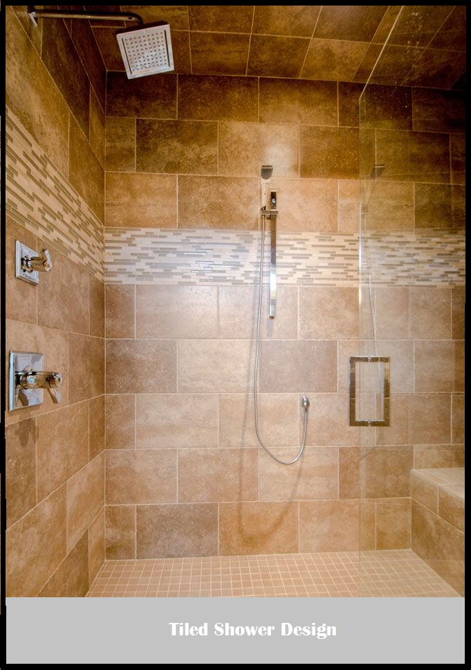 shower designs that include a bathtub as opposed to those with shower