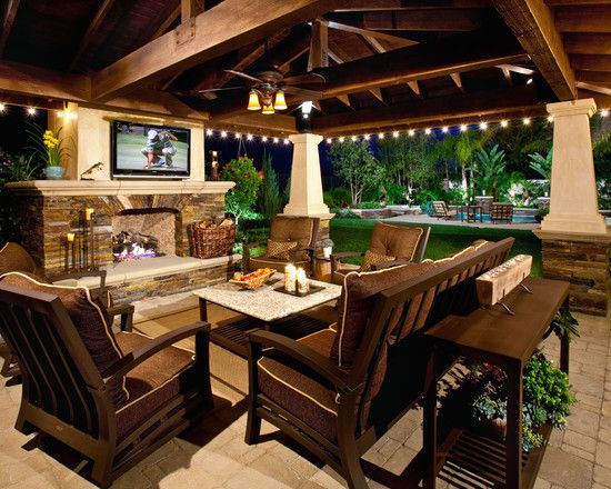 Patio decorating ideas decor designs for Outside design ideas