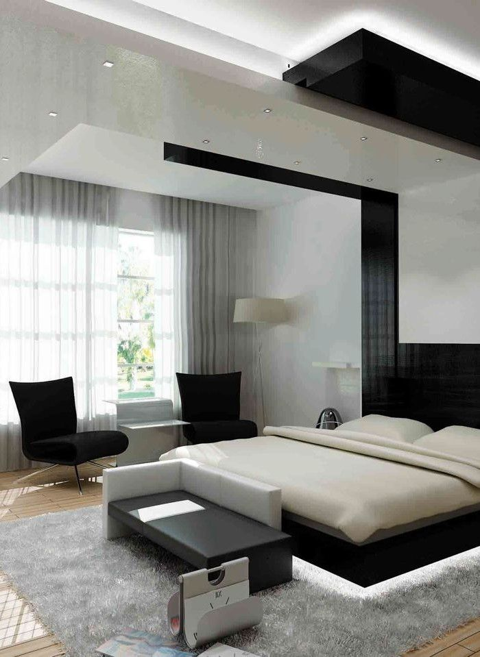 modern design for the bedroom