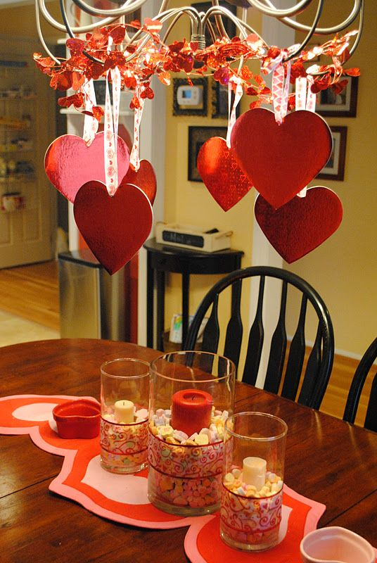 Valentine home decorating ideas for Home decorations for valentine s day
