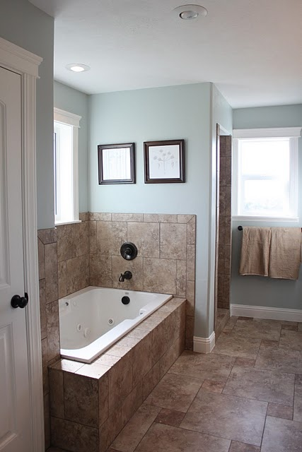 Top 10 bathroom colors Bathroom colors blue and brown