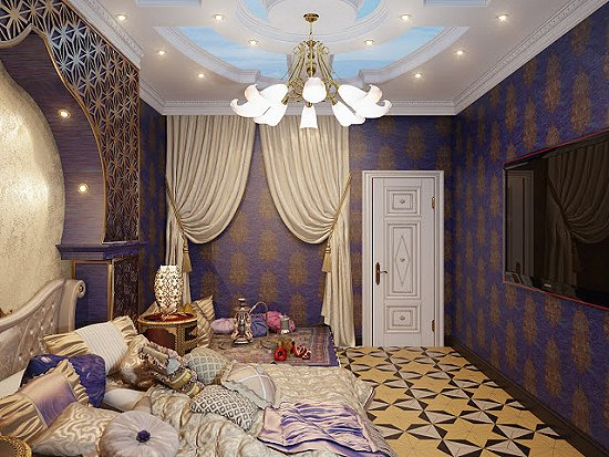 Top asian bedroom decorating ideas for Egyptian themed bedroom ideas