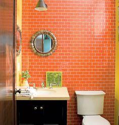 yellow-orange-bathroom