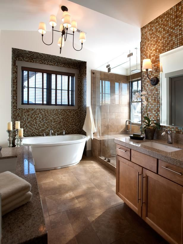 Master bathroom remodeling ideas Master bathroom tile floor