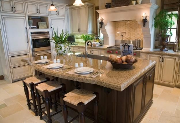 Granite countertop for the kitchen