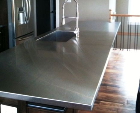 Stainless Steel Kitchen Countertops And Sinks
