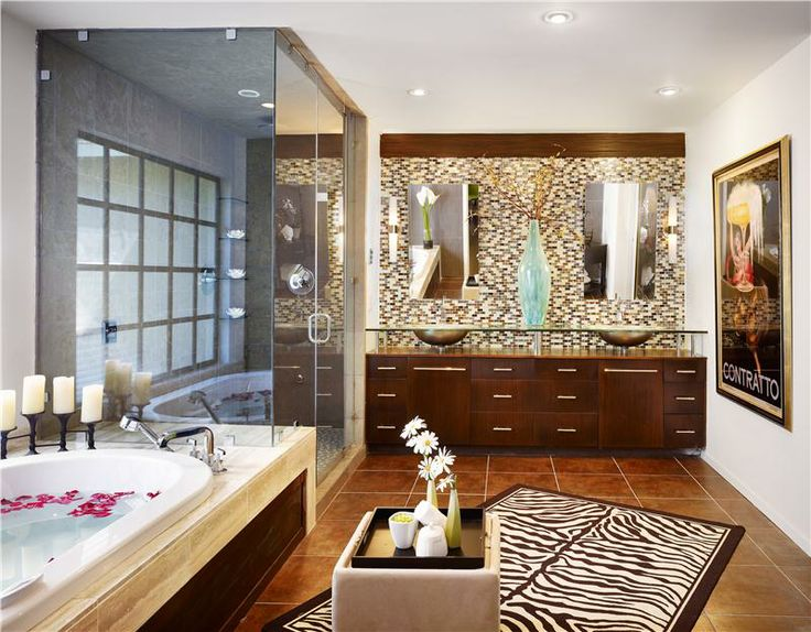 Top master bathroom