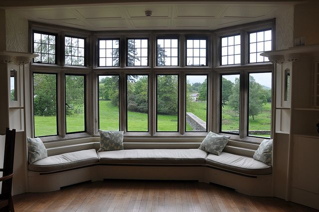 Bay Windows Perfect For Reading And Relaxing
