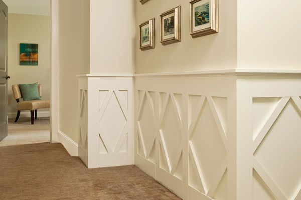 Mdf wainscoting in bathroom