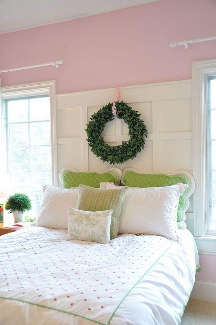 pink-wall-wainscot