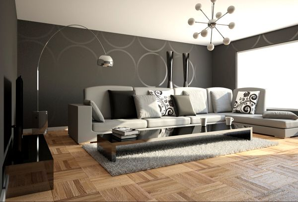 10 amazing color schemes for the living room for Modern colour schemes for living room