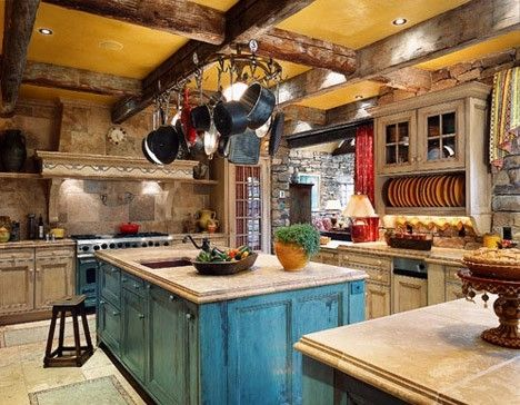 4 amazing southwestern style interior design ideas for Southwestern kitchen designs