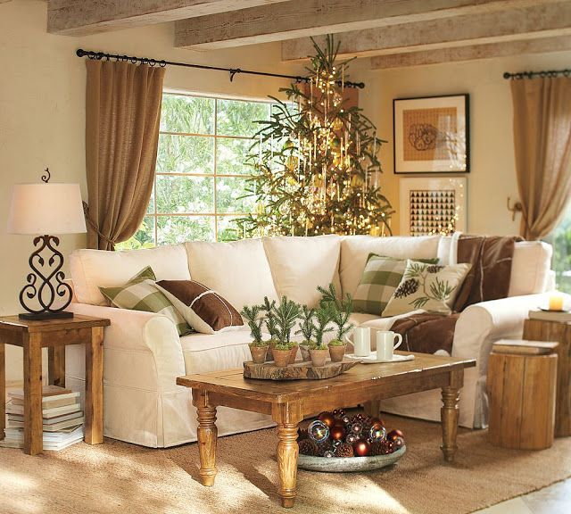 Warm Living Room Ideas: 5 Fabulous Ideas For Country Farmhouse Decor Theme