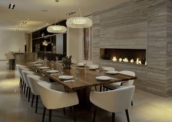 modern dining room idea