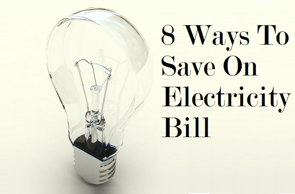 how to save electricity at home pdf
