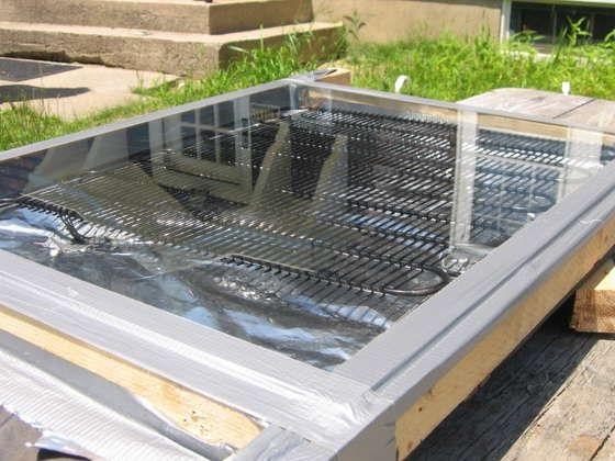 home solar heater