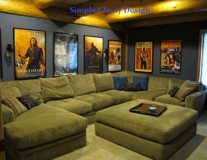 Classic theater room design