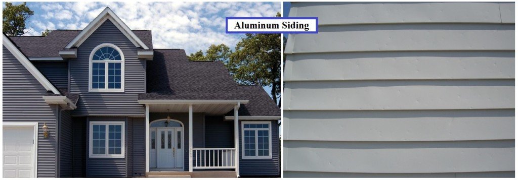 Aluminum home siding