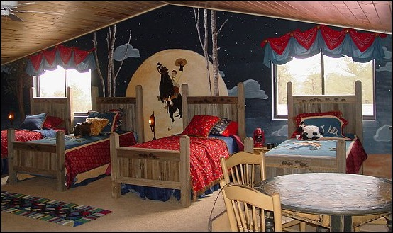 cowboy themed boy room decor