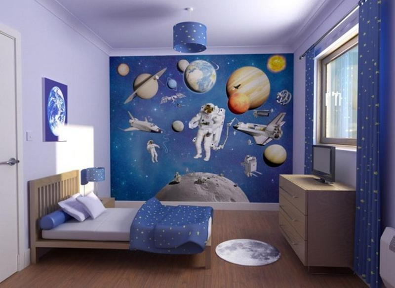 space themed bedroom decor for boys