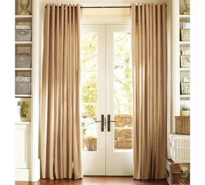 French Door Curtains E Up Your Doors