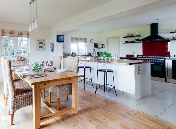 Home kitchen diner design ideas - Kitchen diner family room design ideas ...