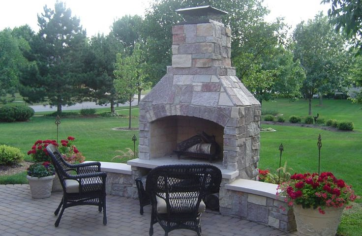 Outdoor Fireplace Kits Instant Home